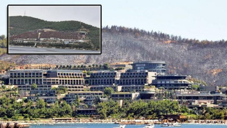 14 yıl önce yandı, ağaçlandırılacak dendi Titanic Otel dikildi! Endişelendiren görüntü