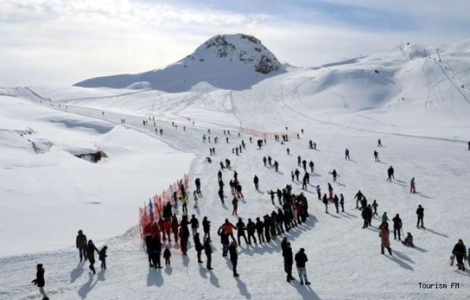 2 bin 800 rakımlı kayak merkezine 100 yataklı otel