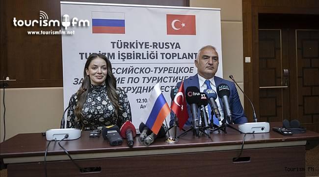 Bakan Ersoy'dan Rusya pazarı ile ilgili önemli açıklama