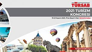 TÜRSAB 2021 Turizm Kongresi için geri sayım başladı