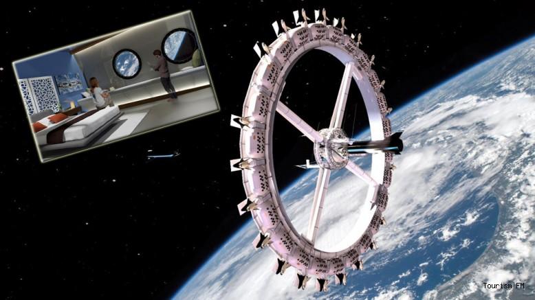 400 kişi kapasiteli ilk uzay oteli açılıyor!