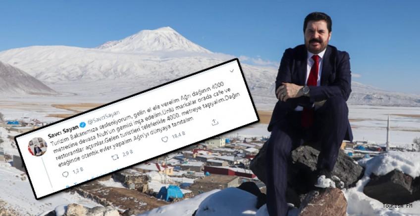 Ağrı Belediye Başkanı Sayan'dan Bakan Ersoy'a çağrı!