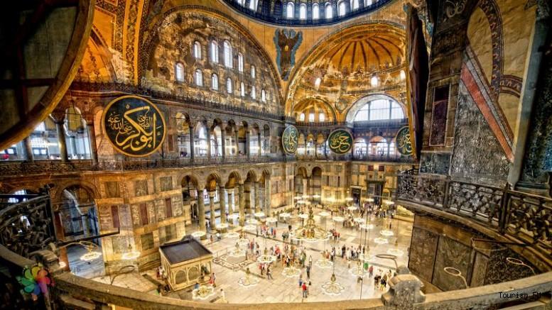 Ayasofya'daki tarihi eserlerin sergileneceği yer belli oldu