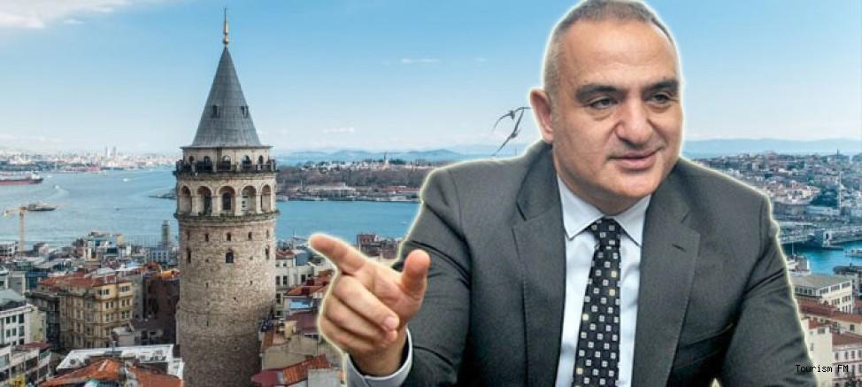 Bakan Ersoy: ''Artık sadece Galata Kulesi olmayacak''