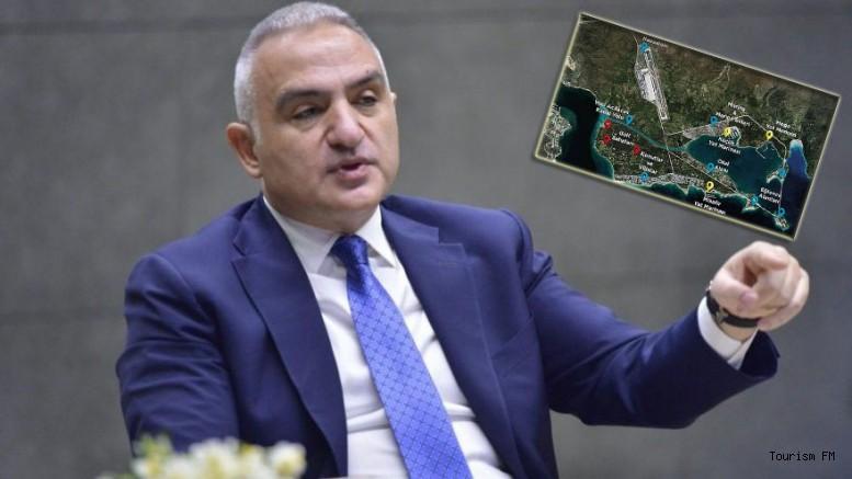 Bakan Ersoy Çeşme Projesi'ne noktayı koydu! Kanal Çeşme...