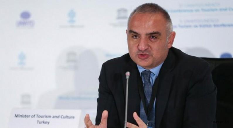 Bakan Ersoy: ''Salgından sonra turizmde V çıkışı bekliyoruz''