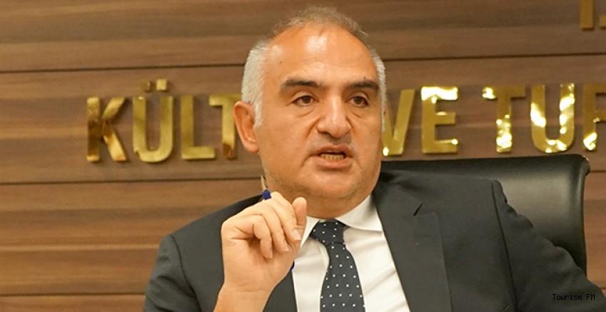 Bakan Ersoy: ''Turist kaybımız yok, gerçekleşen şey sadece...''