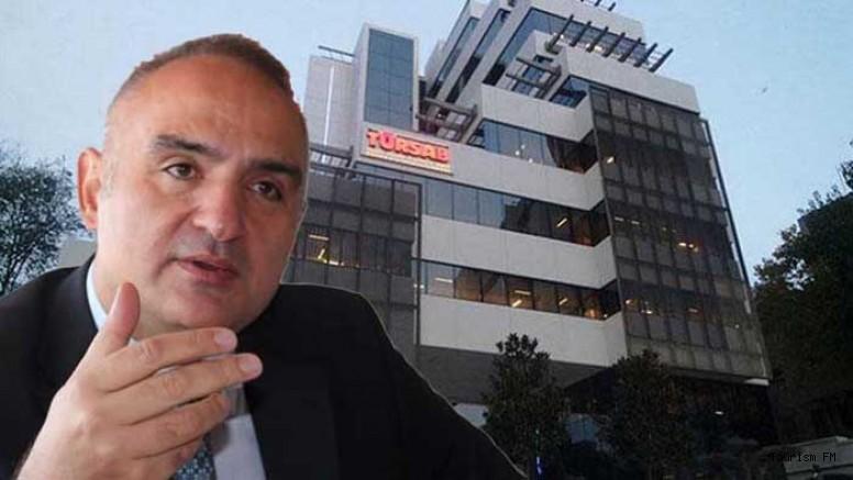 Bakan Ersoy: ''TÜRSAB yasa tasarısı tekelci ve saçma maddelerle dolu''