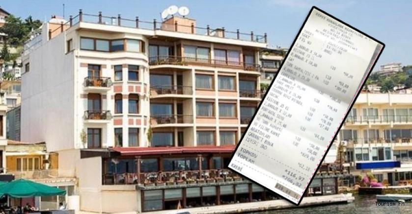 Bebek Hotel'de 2 kişilik kahvaltıya 829 TL şoku!