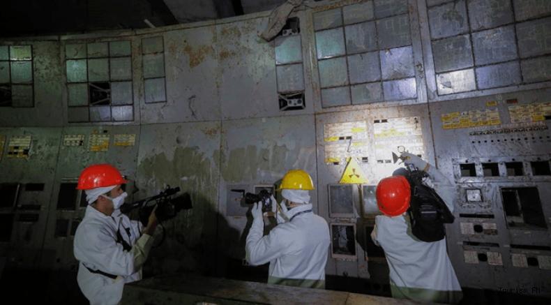 Çernobil'in Kontrol Odası resmen turizme açıldı