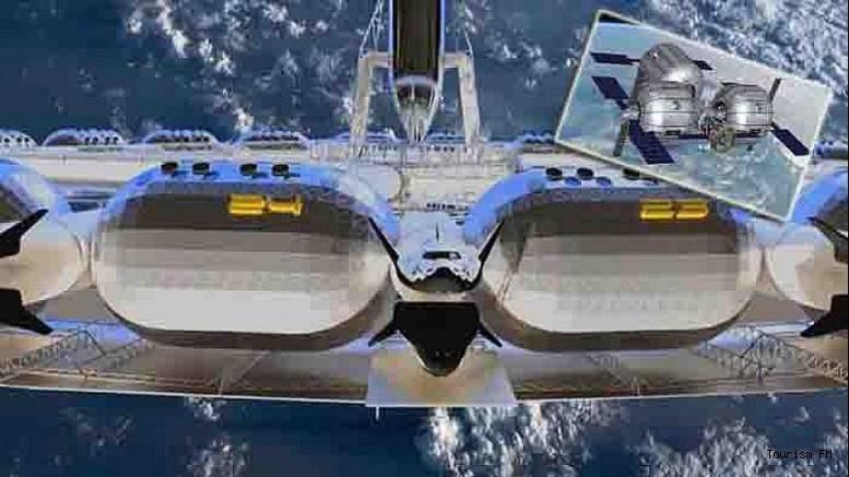 Dünyada ilk! Yapay yer çekimli uzay oteli 2025'te açılıyor