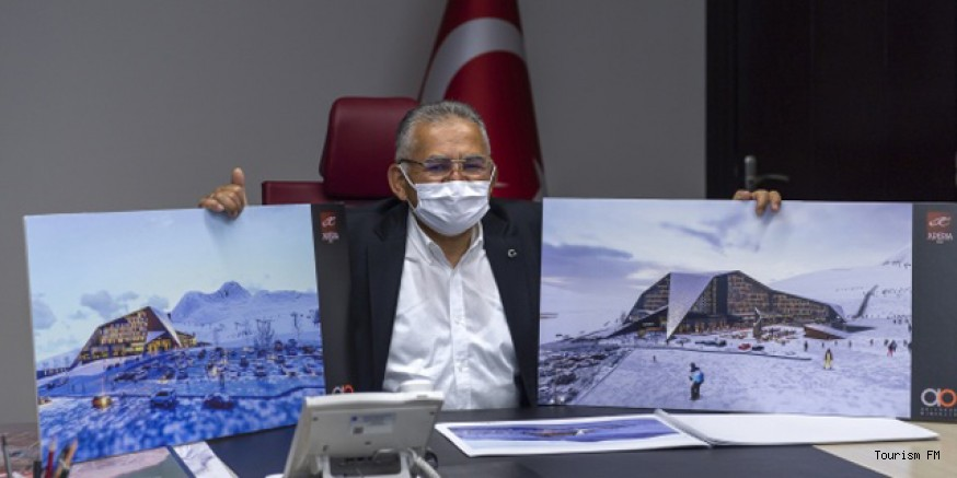 Erciyes Kayak Merkezi'ne 272 odalı yeni otel yatırımı
