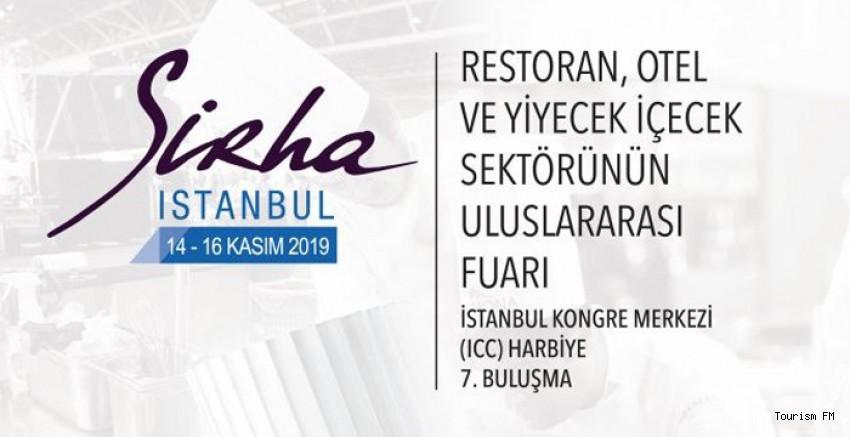 Gastronominin prestijli fuarı Sirha İstanbul'a online ziyaretçi kaydı başladı