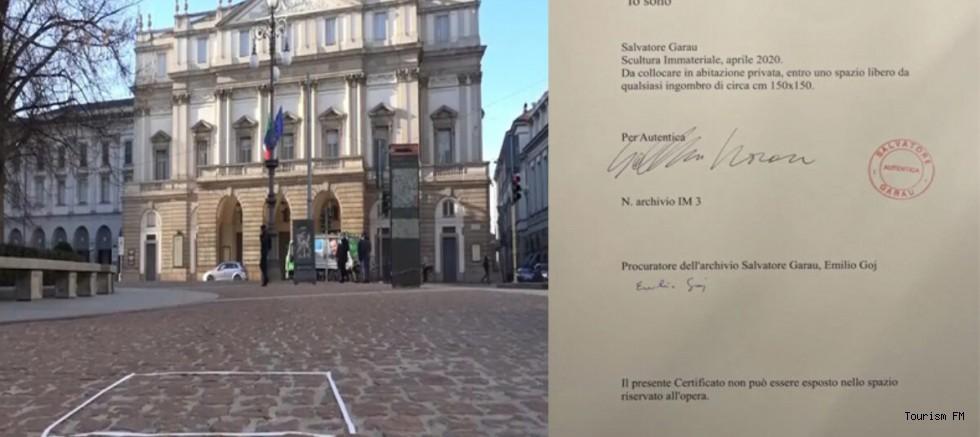 Görünmez heykel 15 bin Euro'ya satıldı! Garanti belgesi bile verdiler