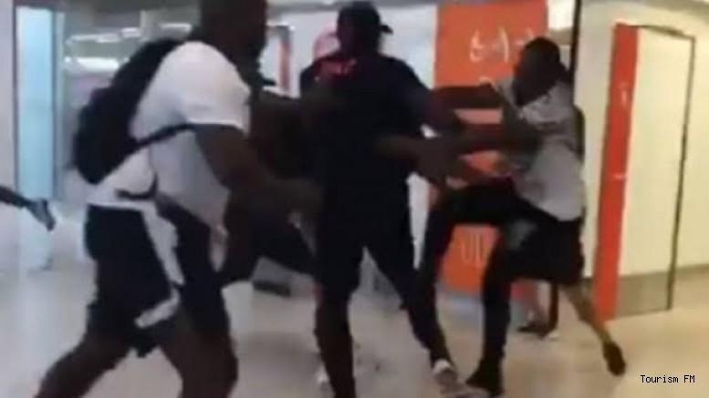 Havalimanını birbirine katan ünlü oyuncu gözaltına alındı!