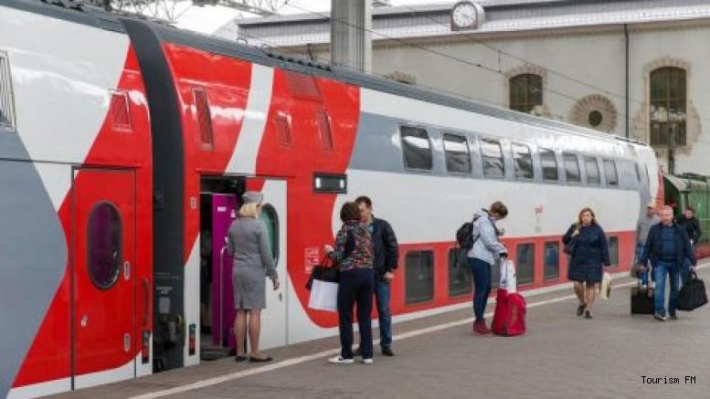 Her şey dahil sistem trenle seyahatlere taşındı!
