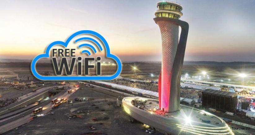 İstanbul Havalimanı'ndan ücretsiz internet hizmeti
