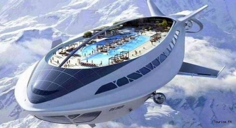 İşte havadaki otel! Türk firma yaptı