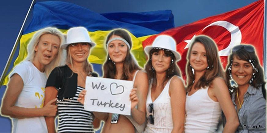 İşte yıl sonuna kadar Türkiye'ye gelecek Ukraynalı turist sayısı