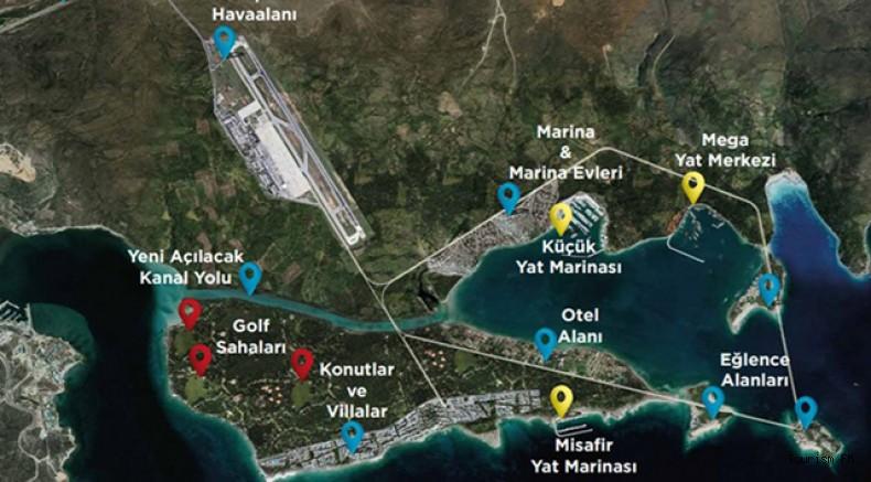 Kanal İstanbul'dan sonra yeni dev proje Çeşme'ye! Havalimanı, oteller ve kanal