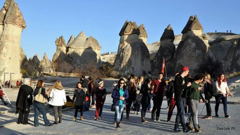 Kapadokya'da turist sayısında rekor