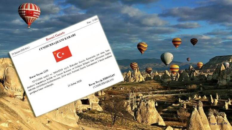 Kapadokya, Kültür ve Turizm Gelişim Bölgesi olmaktan çıkarıldı!