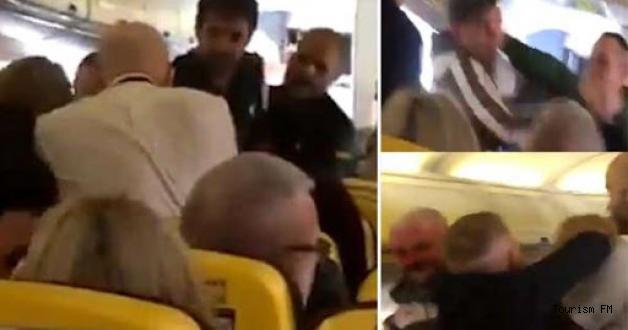 Kaptan pilot ile kabin amiri uçakta tekme tokat kavga etti!