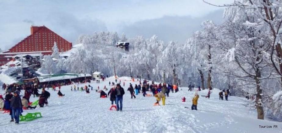 Kartepe Kayak Merkezi'ne giden pişman oluyor! Bankta oturmak yasak, tuvaletler ücretli