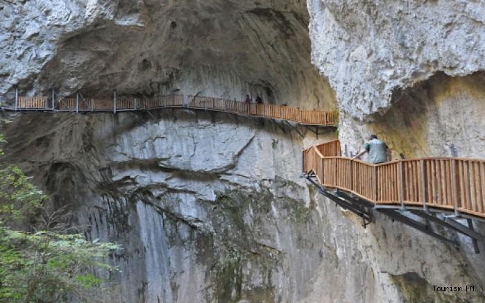 Kastamonu Horma Kanyonu'nda heyecan dolu yürüyüş yolu