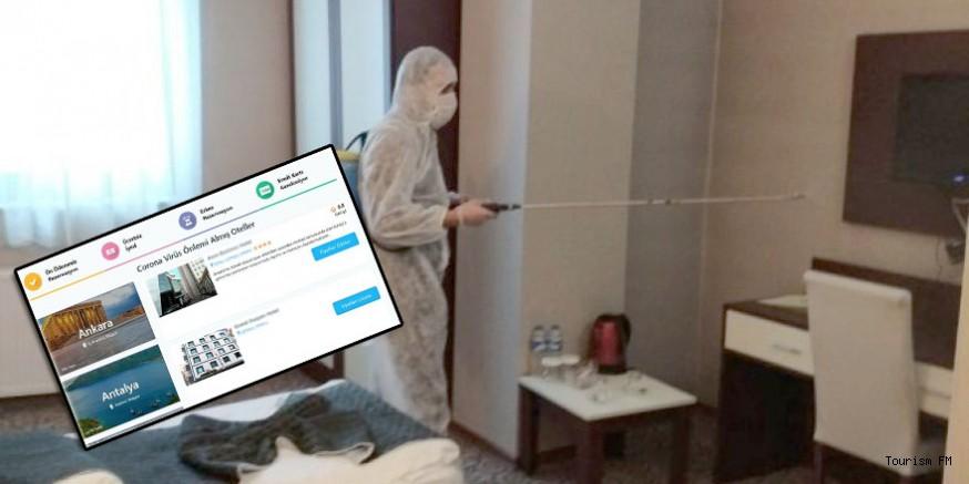 Koronavirüs önlemi almış otellerin odaları internette satışta!