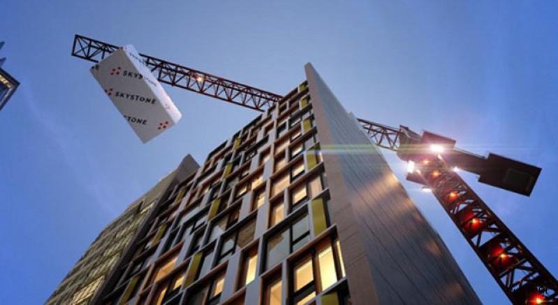 Marriott, dünyanın en yüksek modüler otelini yapıyor
