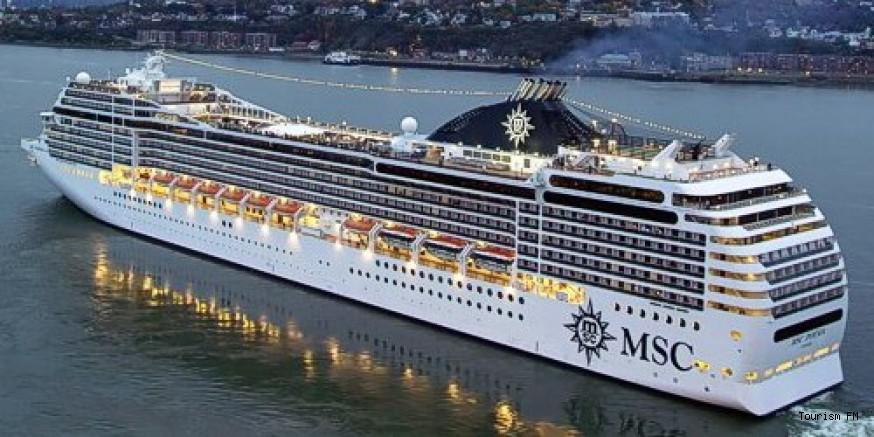 MSC Cruises 2021'de Türkiye limanlarına dönüyor