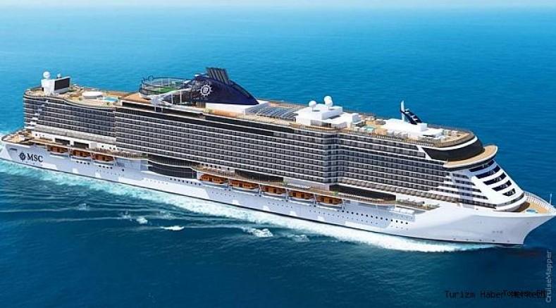 MSC Cruises yeni amiral gemisiyle seyahati bambaşka bir boyuta taşıyor!