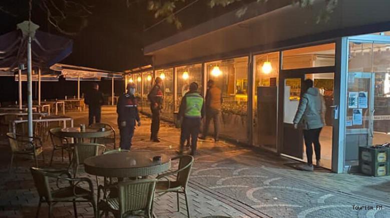 Otelde gece eğlencesine Jandarma baskını ve rekor ceza!