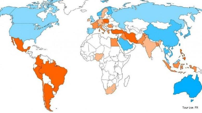 Pandemi sırasında yaşanacak ülkeler açıklandı! İşte Türkiye'nin sırası