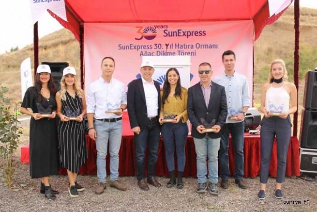 SunExpress'ten Ankara'da  yüz bin metre karelik 30. Yıl Hatıra Ormanı