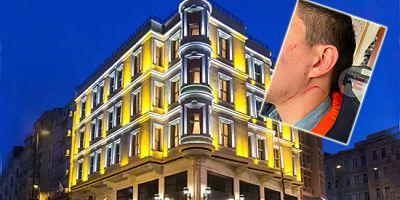 İstanbul'daki otelin sahibi ve müdürü çalışanları darp etti!
