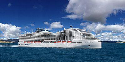 MSC Cruises'ın en gelişmiş gemisi rezervasyona açıldı