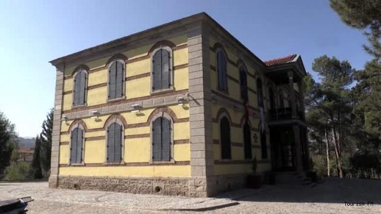 Tarihi mühimmat deposu 3,5 milyon TL'lik yatırımla otel oldu