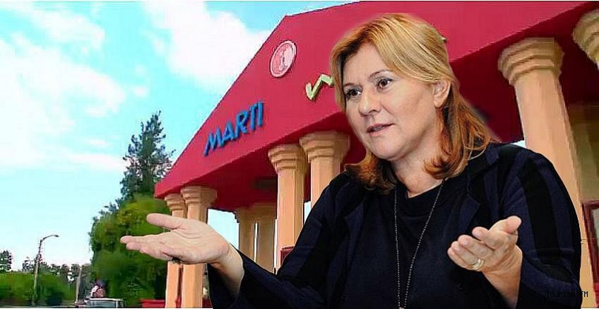 TTYD Başkanı Oya Narin'in sahibi olduğu Martı Myra Otel icradan satışa çıktı