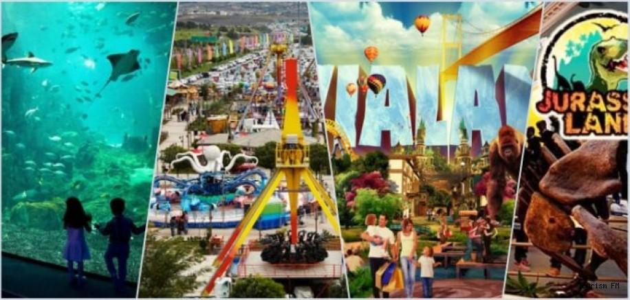 Turistler için yeni çekim merkezleri! Tema parklar