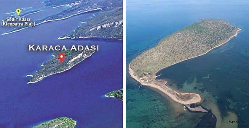 Turizm tesisi ve marina yapma izni olan iki ada satılığa çıkarıldı