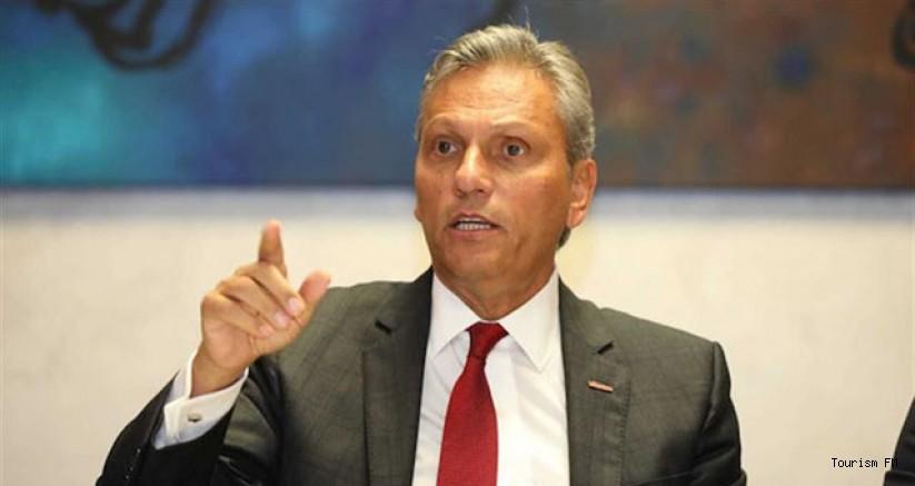 TÜRSAB Başkanı Bağlıkaya'dan 2020 turizm geliri açıklaması