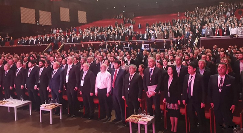 TÜRSAB Genel Kurulu başladı! Bağlıkaya'dan birlik mesajı